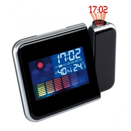 Ceas-termometru cu proiectie 8190