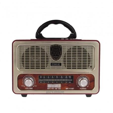 Boxa cu bluetooth,usb,card micro sd,fm radio MK-111BT