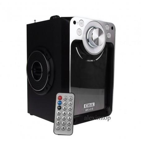 Boxa cu bluetooth,usb,card micro sd,FM radio, AUX, MK-618BT