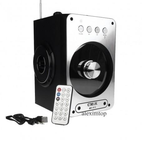 Boxa cu bluetooth,usb,card micro sd,FM radio, AUX, MK-619BT