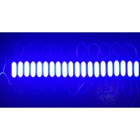 Modul Grup Led SMD 5730 tip COB Impermeabil, Albastru