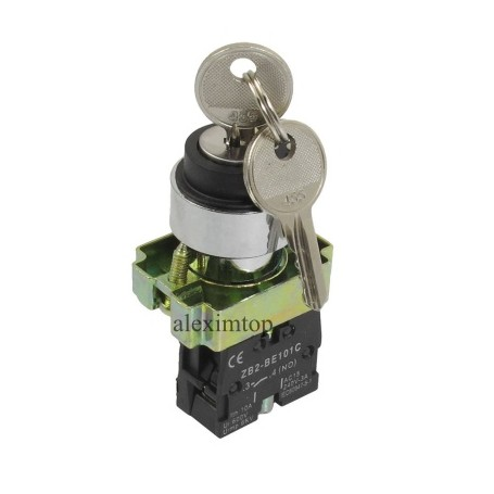 Buton motor cu cheie ON/OF ,ZB2-BG25