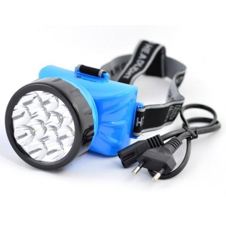 Lanterna Frontala de Cap cu Acumulator 12 LED - 722B