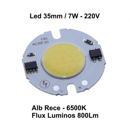 Led Cob 35mm , Putere 7W - 220V